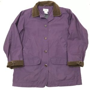 LL Bean Barn Chore Coat Cotton